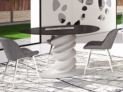 Tavolo in Solid SurfacePLECTRUM | Tavolo in Solid Surface - BOFFETTO