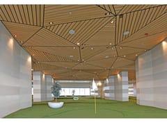 HunterDouglas Architectural, CONTROSOFFITTO LINEARE IN LEGNO MASSELLO Controsoffitti lineari in legno massello