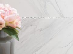 Pavimento/rivestimento in gres porcellanato effetto marmo SOUL WHITE - URBATEK - Grès Porcellanato