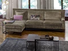 Divano in tessuto con chaise longue SP2802 | Divano con chaise longue - SP2802