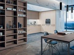 Cucina laccata in laminato SPACE HANDLE - Contemporary