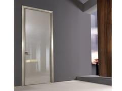 Porta a battente in vetro tessuto SPARK | Porta - Aluminium Chic
