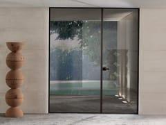 Porta a battente in vetro SPARK | Porta in vetro - Aluminium Chic