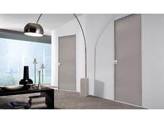 Porta a battente in vetro laccato SPARK | Porta in vetro laccato - Aluminium Chic