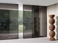 Porta scorrevole in vetro SPARK | Porta scorrevole - Aluminium Chic