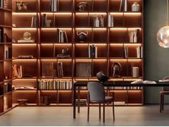 Libreria angolare componibile in legnoSPAZIOTECA | Libreria angolare - PIANCA