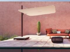 Ombrellone orientabile quadrato in Sunbrella® con palo lateraleSPECTRA UX CULTURE - UMBROSA
