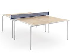 Tavolo da ping pong rettangolare in legno e metalloSPIDER | Tavolo da ping pong - FAS PENDEZZA