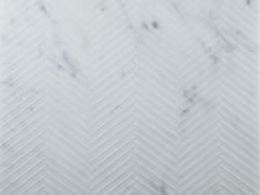 Pavimento/rivestimento in marmoSPIGATO CARRARA - TWS - TIPICAL WORLD STONE