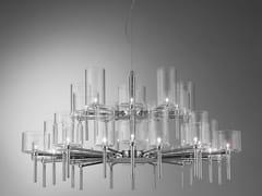 Lampadario a luce diretta in cristallo SPILLRAY | Lampada a sospensione a luce diretta - Spillray
