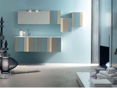 Sistema bagno componibile SPRING - COMPOSIZIONE 1 - Spring