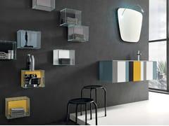 Sistema bagno componibile SPRING - COMPOSIZIONE 2 - Spring