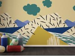 Carta da parati lavabile per bambiniSPRING WINDOW - GIPRINT