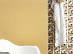 Rivestimento rettificato in ceramica a pasta bianca per interniSPRING YELLOW - CERAMICA SANT'AGOSTINO