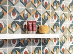 Rivestimento rettificato in ceramica a pasta bianca per interniSPRINGPAPER 03 - CERAMICA SANT'AGOSTINO