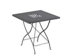 Tavolo da giardino quadrato in metalloSPRINGTIME | Tavolo quadrato - VERMOBIL