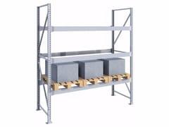 Scaffale metallico ad incastro per carichi pesanti SPZ271030.12 - Scaffalatura portapallets