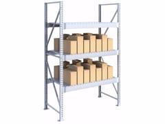 Scaffalatura da magazzino ad incastro con doghe SPZD181030.15 - Scaffalatura portapallets