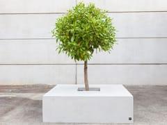Panchina in calcestruzzo fibrorinforzato con fioriera integrataSQUARE 150 - FACTOR-ESPAÇO, INVESTIMENTOS IMOBILIÁRIOS
