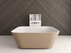 Vasca da bagno centro stanza quadrataALFA ESSENTIAL | Vasca da bagno quadrata - ABSARA INDUSTRIAL