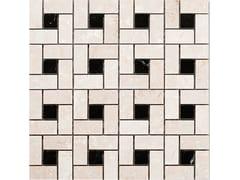Mosaico in marmoSQUARE   BOTTICINO NERO MARQUINA - IDEAMARMO