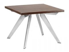 Tavolino da caffè quadrato in legnoPLATINUM | Tavolino quadrato - ARREDIORG