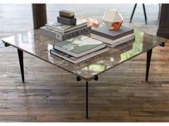 Tavolino quadrato in marmo da salottoPRONG | Tavolino quadrato - GABRIEL SCOTT
