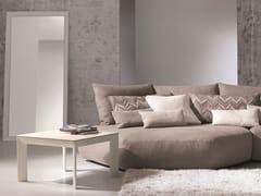 Tavolino da caffè quadrato in vetro temperatoMOON | Tavolino quadrato - IDEAS GROUP