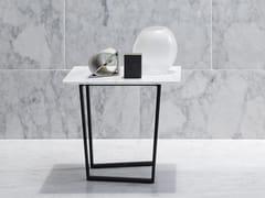Tavolino quadrato in marmo DRITTO | Tavolino quadrato - Dritto