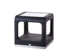 Tavolino da giardino con vano contenitoreCRUISE   Tavolino quadrato - 7OCEANS DESIGNS