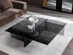 Tavolino quadrato in vetroSESTANTE | Tavolino quadrato - T.D. TONELLI DESIGN