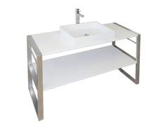 Consolle lavabo in Pietraluce® SQUARE B1 | Consolle lavabo - Square