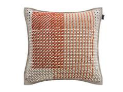 Cuscino quadrato in tessuto CANEVAS GEO CORAL | Cuscino quadrato - Canevas Geo