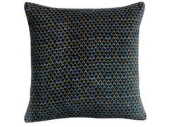 Cuscino quadrato in cotone a motivi geometriciVERA | Cuscino quadrato - VIVARAISE