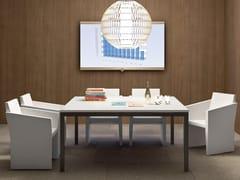 Tavolo da riunione quadrato YARD | Tavolo da riunione quadrato - Yard