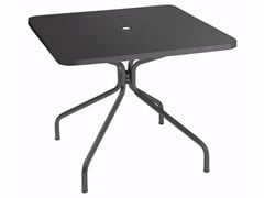 Tavolo quadrato in lamieraSOLID | Tavolo quadrato - EMU GROUP