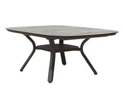 Tavolo allungabile da giardino quadrato in alluminioSAGAMORE   Tavolo quadrato - LES JARDINS