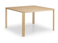 Tavolo quadrato in legnoERMETE | Tavolo quadrato - TRUE DESIGN