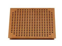 Pannello decorativo acustico in legno SQUARE TILE 60 - Square Tile