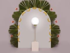 Lampada da terra a LED in ceramicaSQUARED AVALON | Lampada da terra - HOUTIQUE