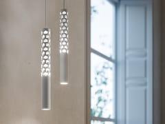 Lampada a sospensione a LED in alluminioSQUIGGLE H6 - ROTALIANA