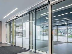 Porta d'ingresso automatica in vetroST FLEX GREEN - DORMAKABA ITALIA