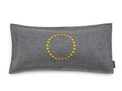 Cuscino rettangolare in feltro STAMP CIRCLE | Cuscino rettangolare - Stamp