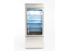 Frigorifero con anta in vetro con congelatore STANDPLUS 90 | Frigorifero con anta in vetro - Standplus