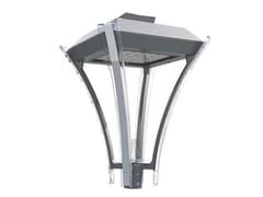 Testa palo a LED in alluminioSTANZA - GHM-ECLATEC