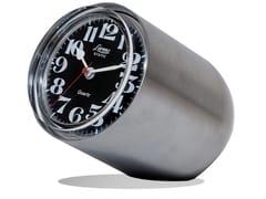 Orologio da tavolo in acciaio satinatoSTATIC | Orologio in acciaio satinato - LEADER WATCH COMPANY