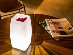 Lampada da tavolo a LED in plastica con sistema RGB senza filiSTELE - SMART AND GREEN