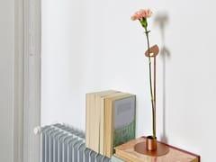 Vaso monofiore in acciaioSTELO - HIRO