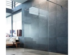 Doccia walk-in in cristallo STEP IN FK1 - Showering