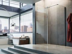 Box doccia angolare in cristallo STEP IN FQ+FH - Showering
